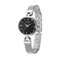 Yooyvso Authentic Yaqin Watch Female Models 6222 Fashion Bracelet Ladies Watches (Black)