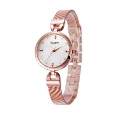 Yooyvso Authentic Yaqin Watch Female Models 6222 Fashion Bracelet Ladies Watches (Gold)