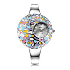 Yooyvso Yaqin Authentic Fashion Watches Miss Bai Ling Painted Epoxy Surface Watches