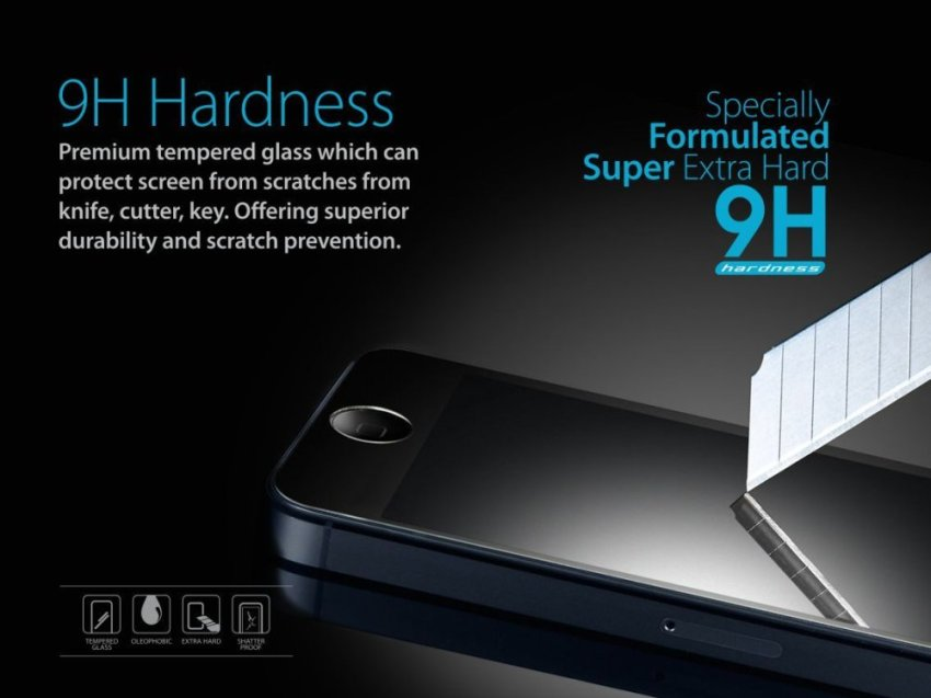 Zagbox Tempered Glass Samsung Note 4
