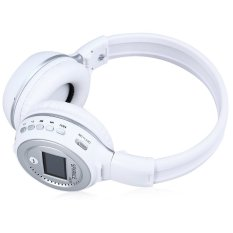 Zealot B570 LED Display Screen Wireless Stereo Bluetooth V4.0 Headphones (White) (Intl)