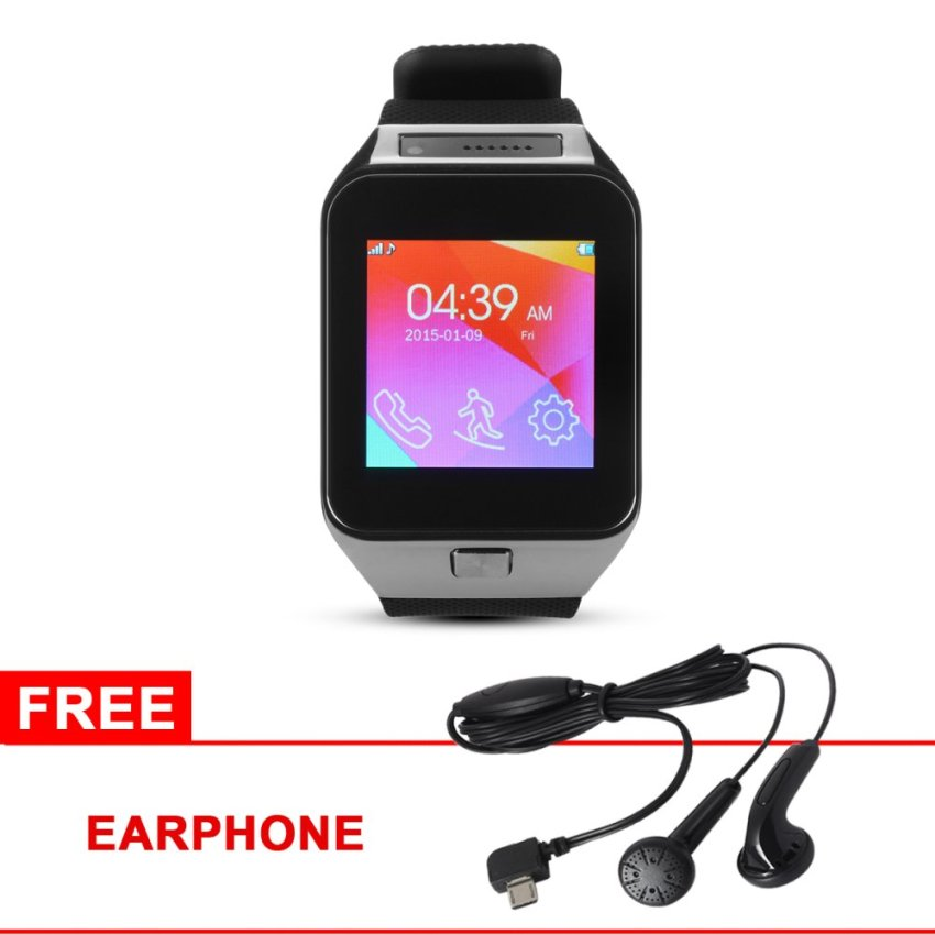 ZGPAX S29 Bluetooth SIM Smart Watch w/ Earphone (Black) TH196