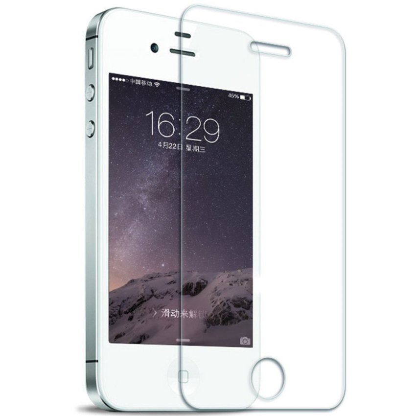 Zisure Premium Tempered Glass Screen Protector for iphone 4s (Ultra Clear) (Intl)