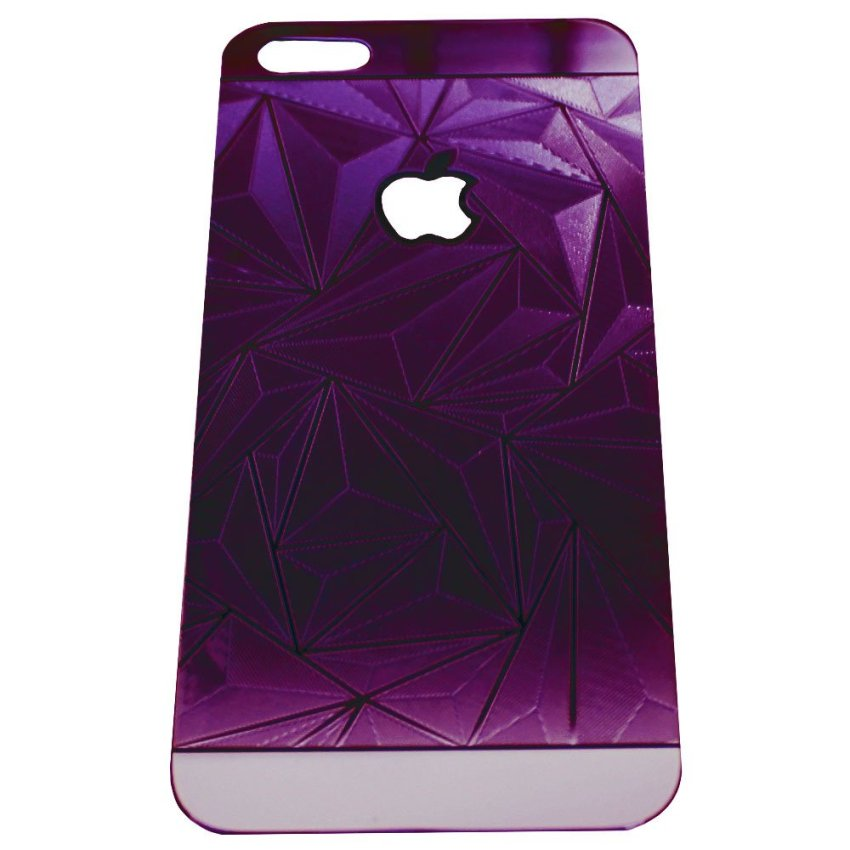 Zona Tempered Glass 3D Diamond for iPhone 4 - Purple