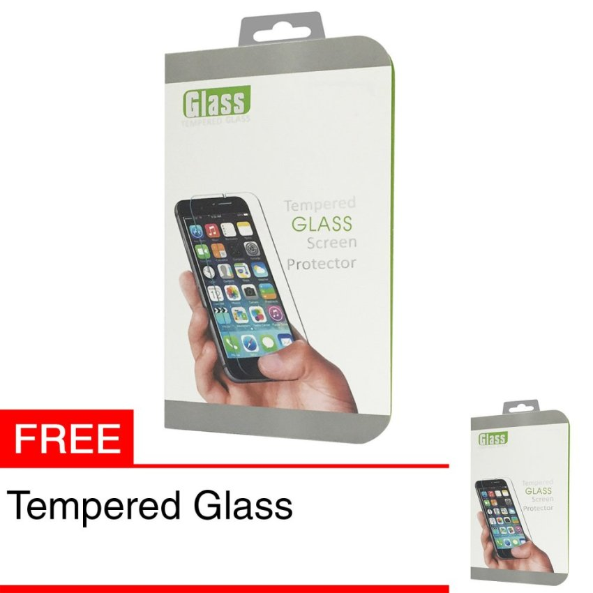 Zona Tempered Glass for Lenovo A7000 + Gratis Tempered Glass