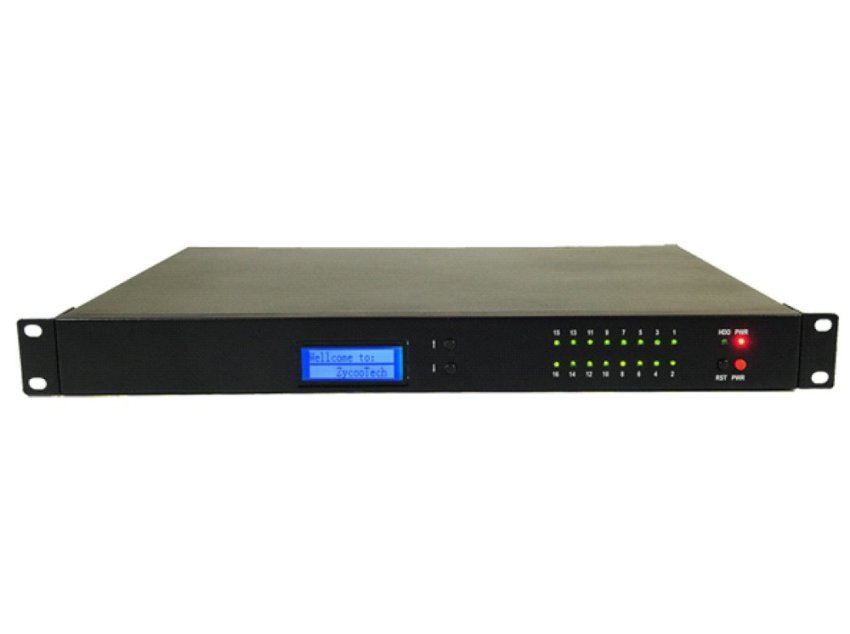 Zycoo IP PABX / IP PBX ZX100 For 500 Extension SIP and 2 Analog Ext + 14 CO line PSTN