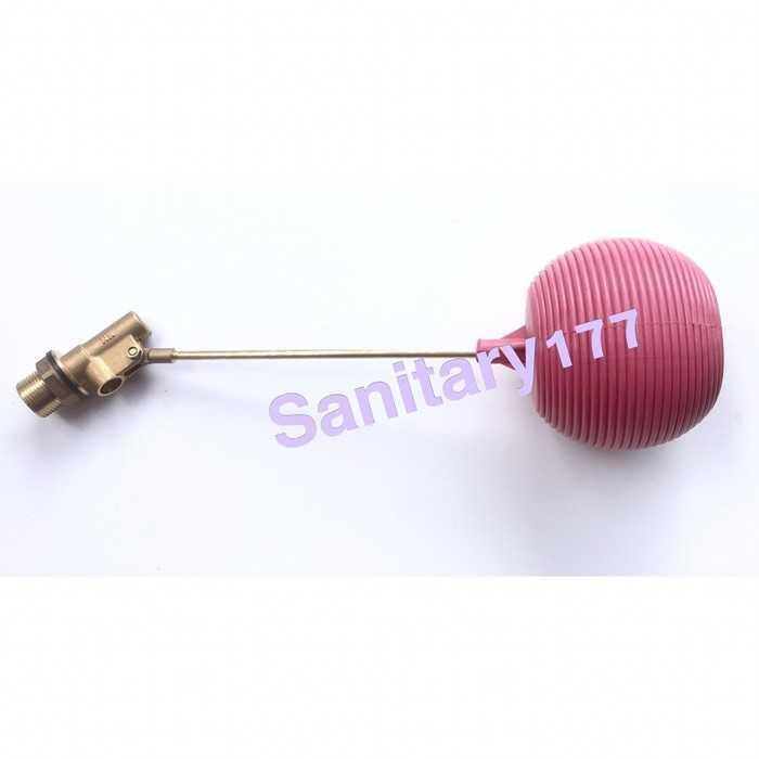 Pelampung air Kuningan 3/4 inch / pelampung kran bola otomatis