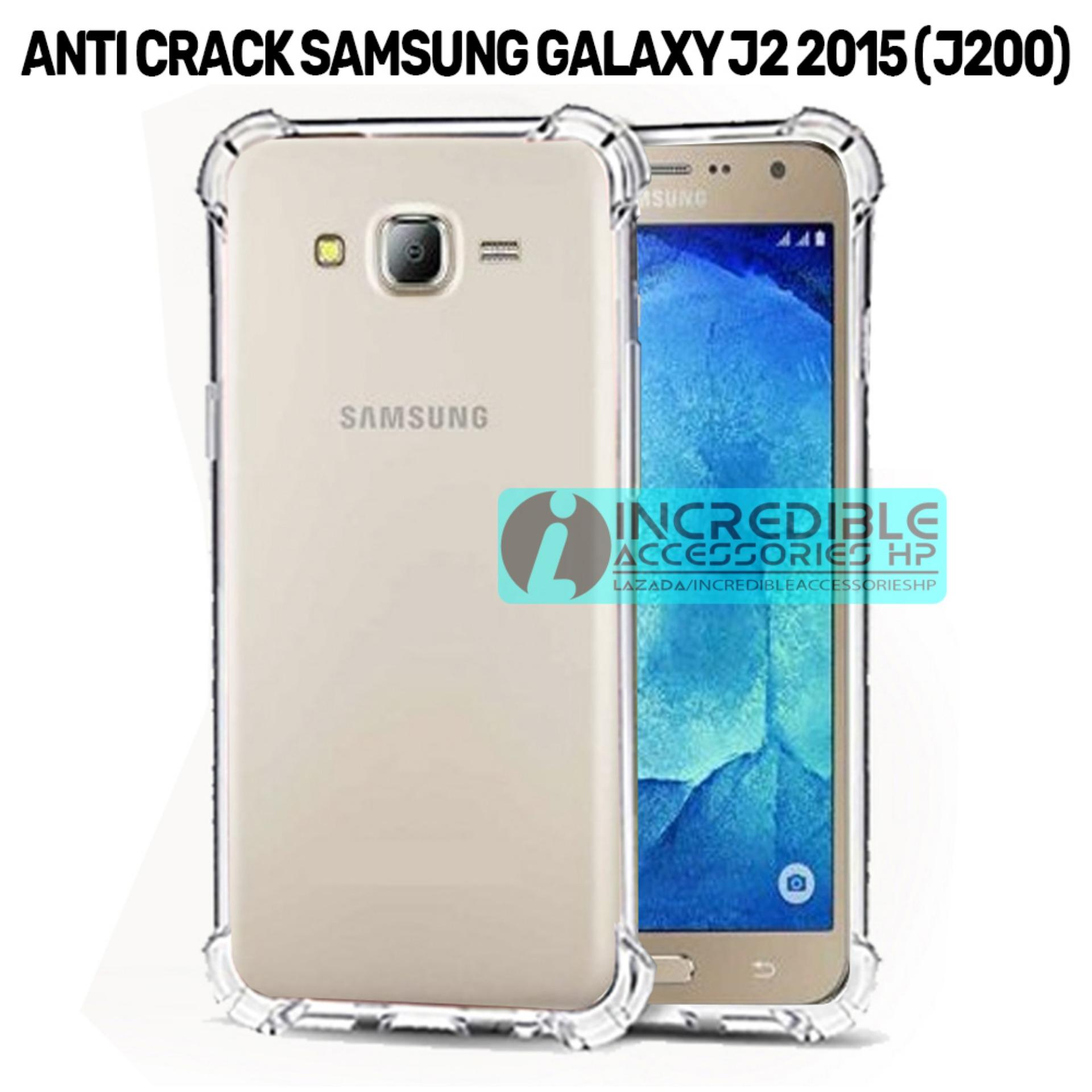 Case Anti Shock / Anti Crack Elegant Softcase  for Samsung Galaxy J2 2015 (J200) - White Clear