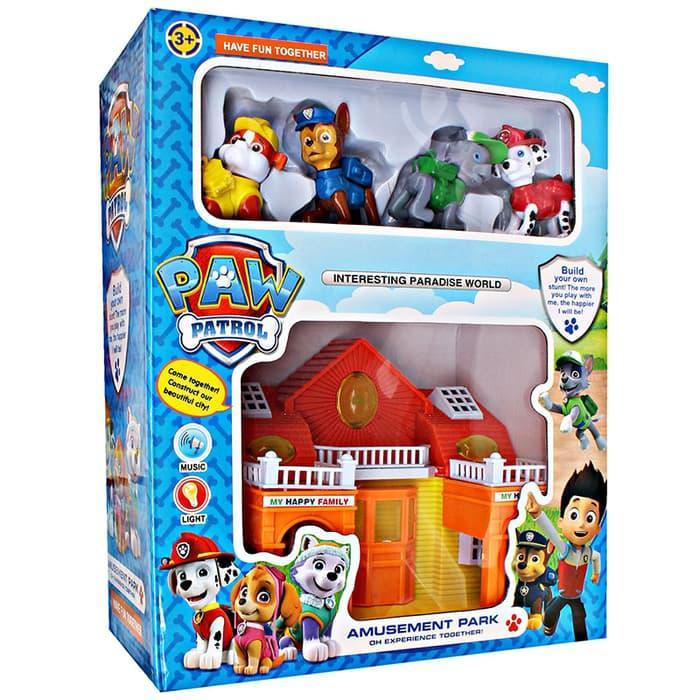 Mainan Anak Cewe Cowo Mainan Anak PAW Patrol Amusement Park ZY-564
