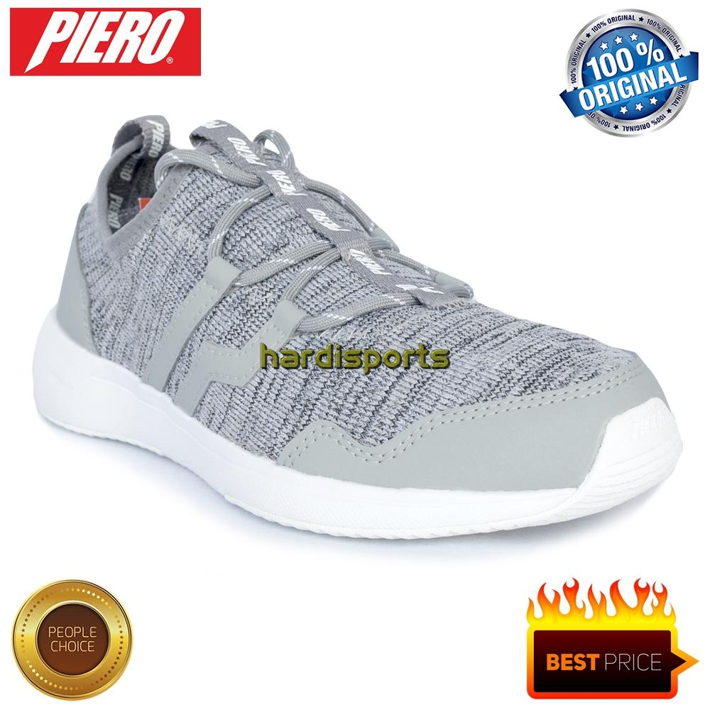 Sepatu Sports Sneaker Piero Arctic P20306 - Grey White b0ef64e1fb