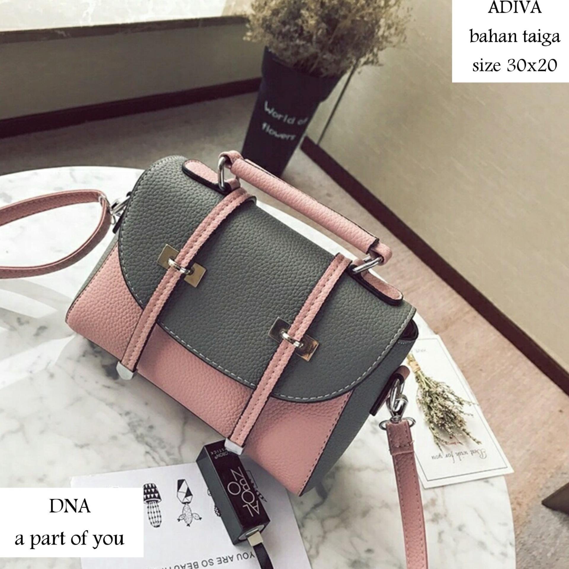 Tas Selempang Wanita Handbag Fashion Sabuk Riana Kasual