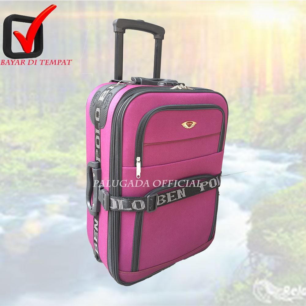 Koper Baju colour fun , Koper Import Koper Polo Ben High Quality 24 inch PG 2244 UNGU