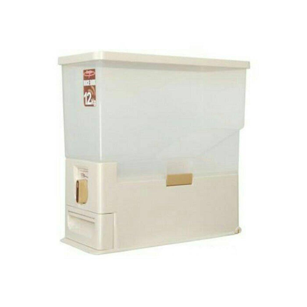 Rice Box Maspion MRD 12 Kg / Tempat Penyimpanan Beras Minimalis