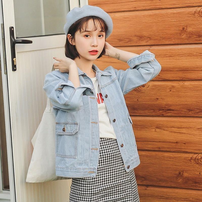 novi.olshop SALE JAKET JISKA JEANS / Jaket Korea / Sweater / Blazer / Rompi / Atasan Wanita / Blous