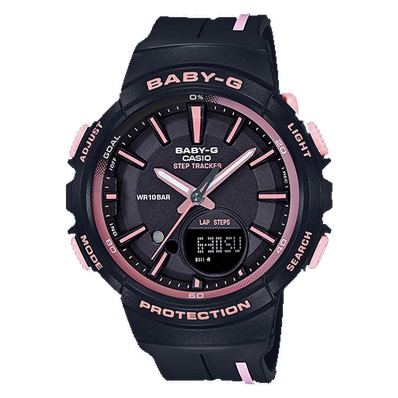 CASIO ORIGINAL Baby-G BGS-100RT-1A Step Tracker Jam Tangan Wanita -