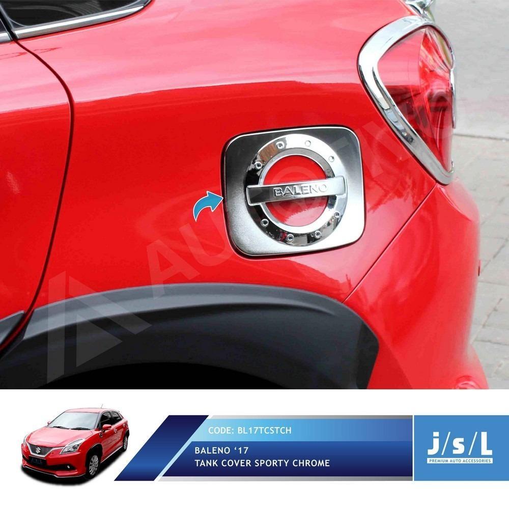 JSL Tank Cover Tutup Tangki Bensin Baleno Hatchback 2017 Model Sporty