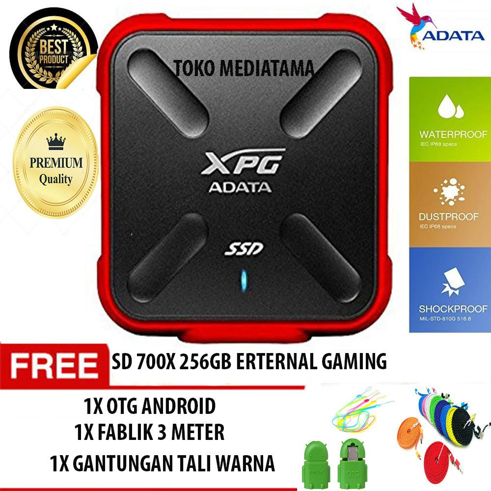 SSD ADATA 700X 256 GB External Gaming 3D NAND