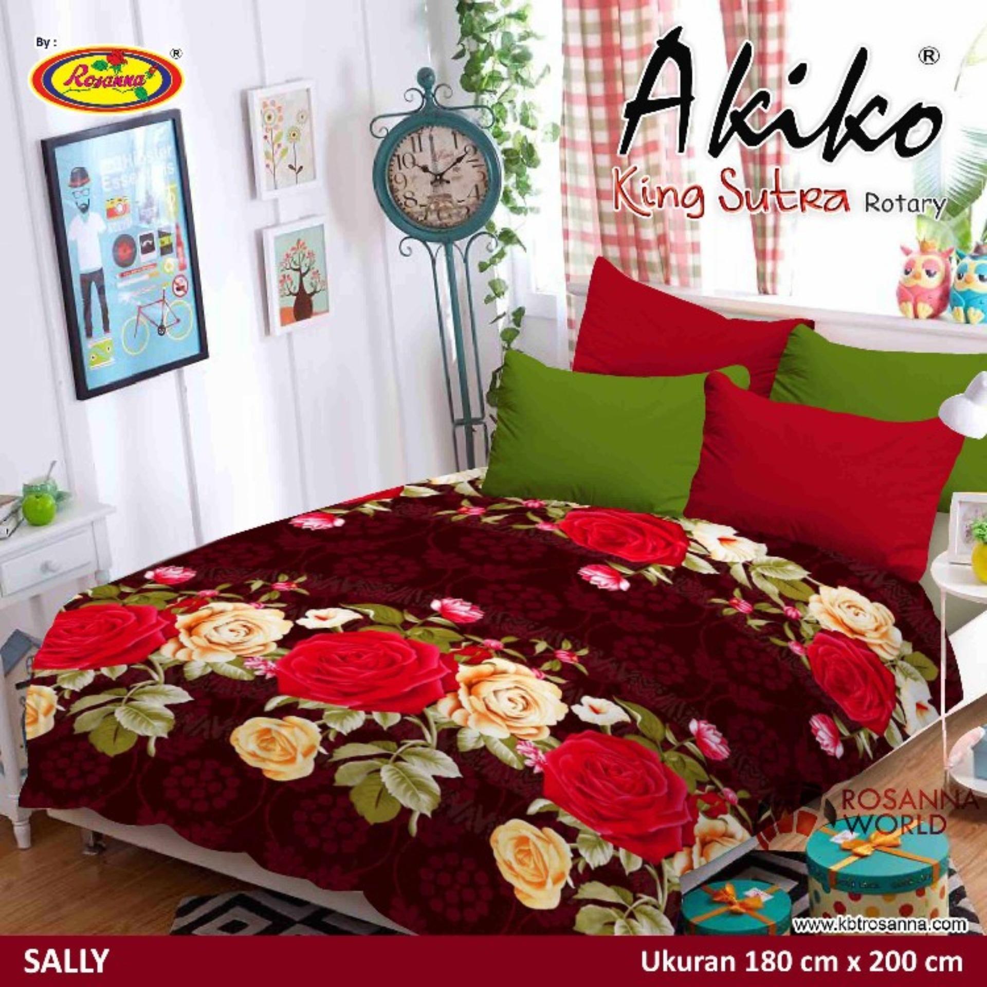 Shock Belanja Dijual Selimut Michiki Karakter Anak Perempuan 150x200 Akiko Sutra Panel Frozen King Rotary Sally Multicolor