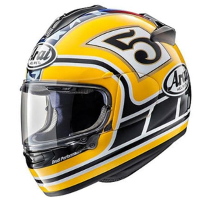 Arai Vector-X Edward Legend Helm Full Face - Yellow