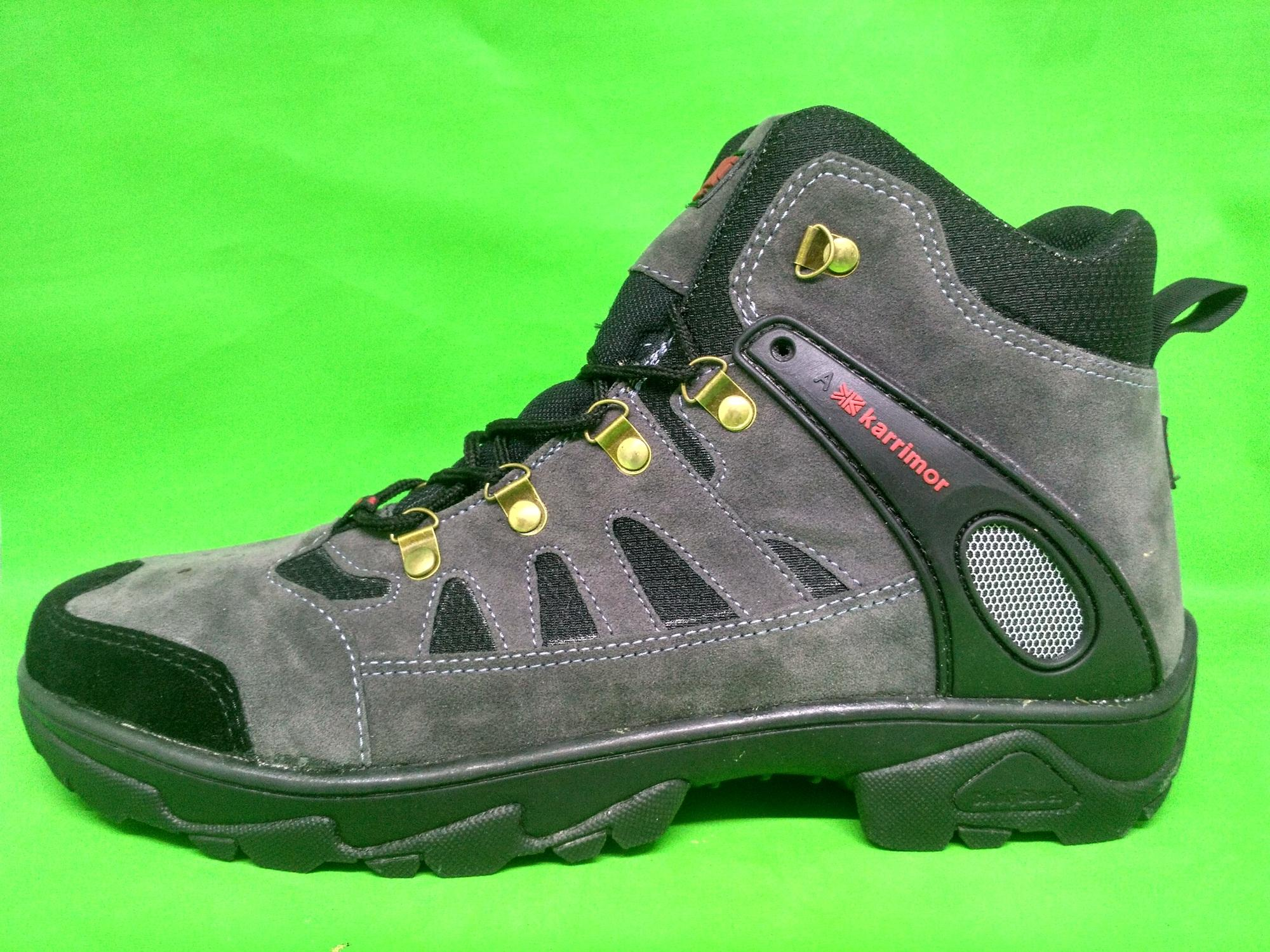 Sepatu Karrimor High. Sepatu Hiking Gunung. Sepatu Tracking Boots Pria Murah bf535ee868