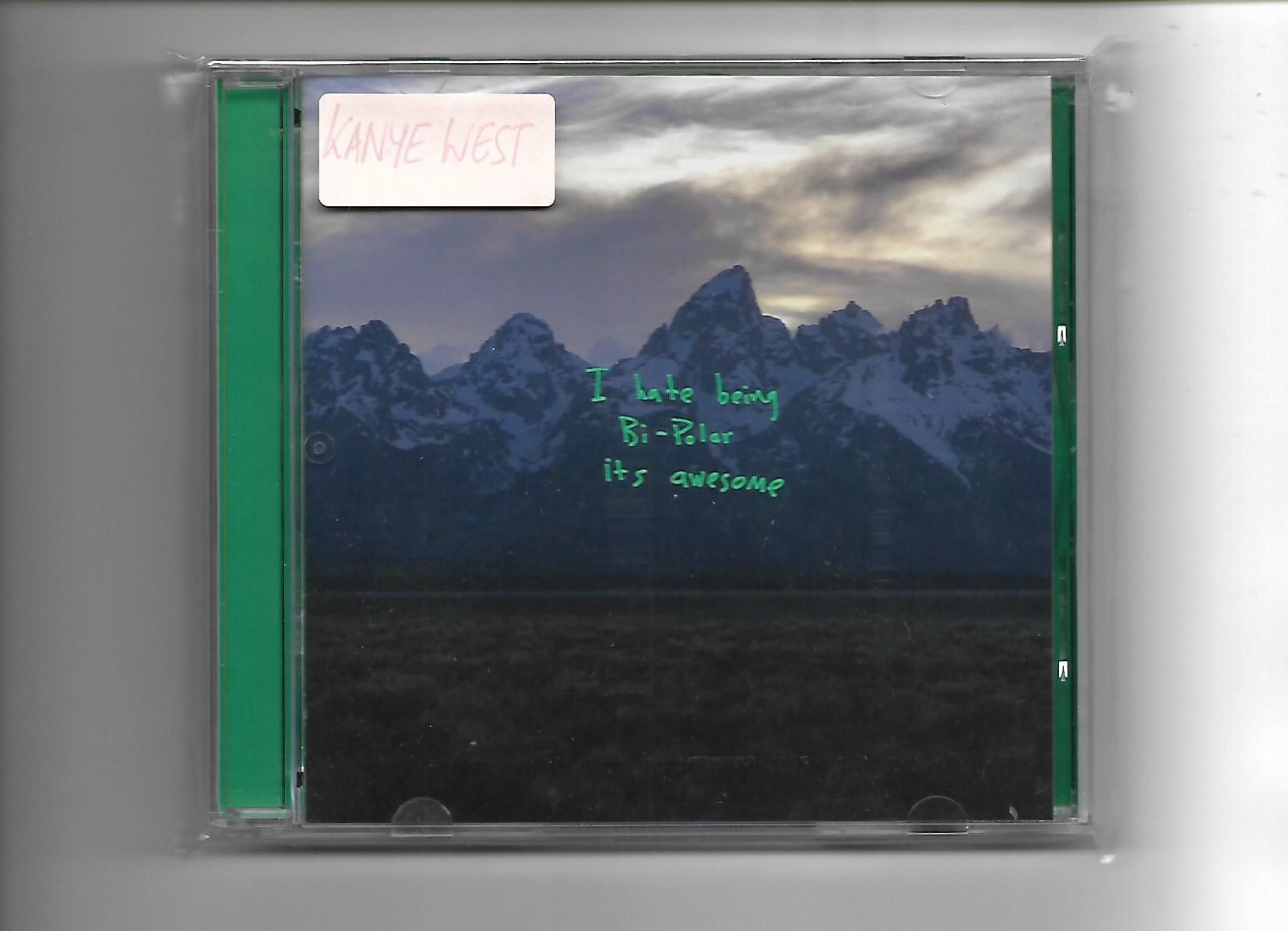 Cd Kanye West Ye By Et 45 Music Store.