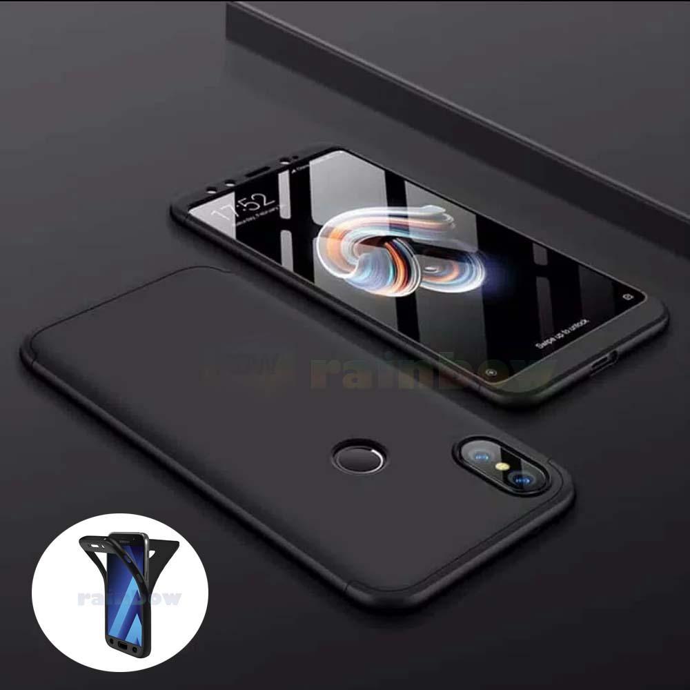 Rainbow Soft Case 360 Infinix Hot S3 X573 Black (2in1) Baby Skin Softcase Infinix