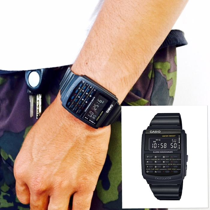 Hemat 10%!! Jam Tangan Original Casio Calculator Ca 506 1B - ready stock