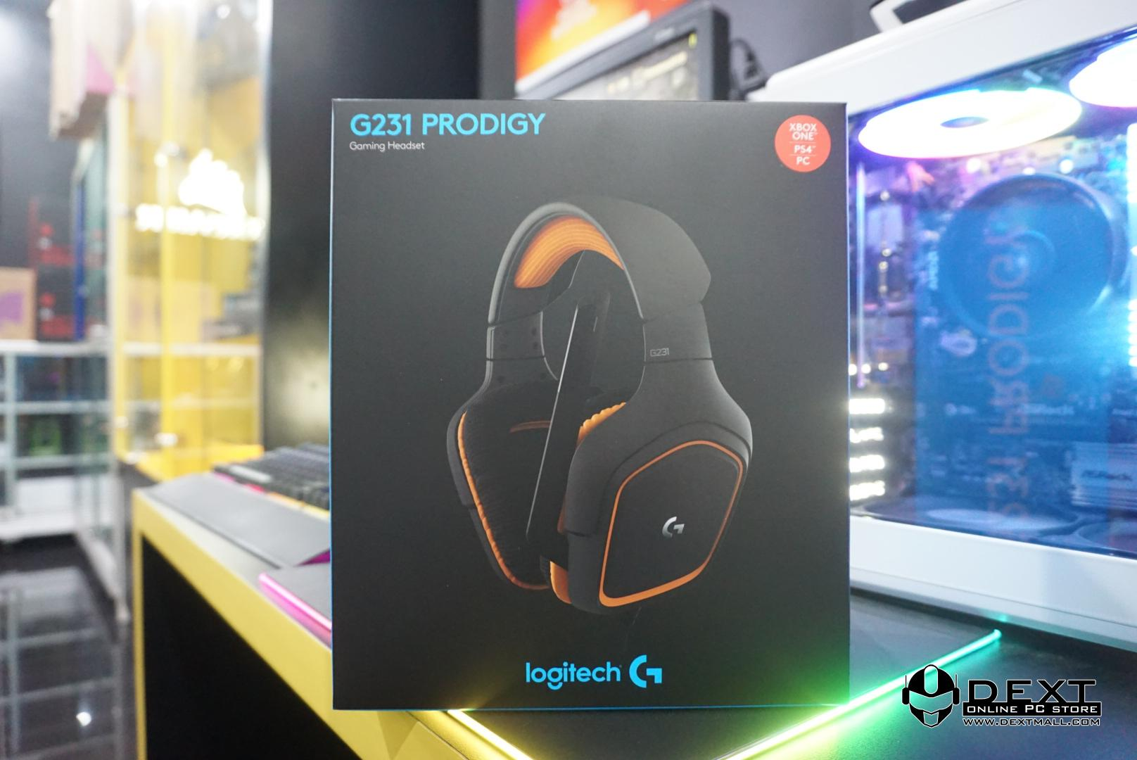 Logitech G231 Prodigy - Gaming Headset