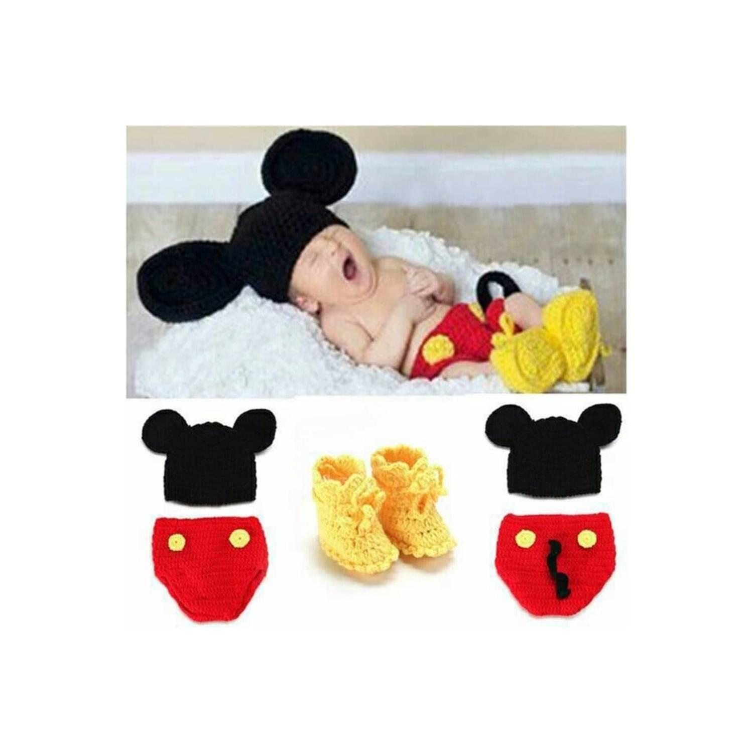 Buy Sell Cheapest Special Baby Set Best Quality Product Deals Mitu Pack Biru Mtb010 Terbatas Kostum Rajut Foto Mickey Mouse Hotproduct