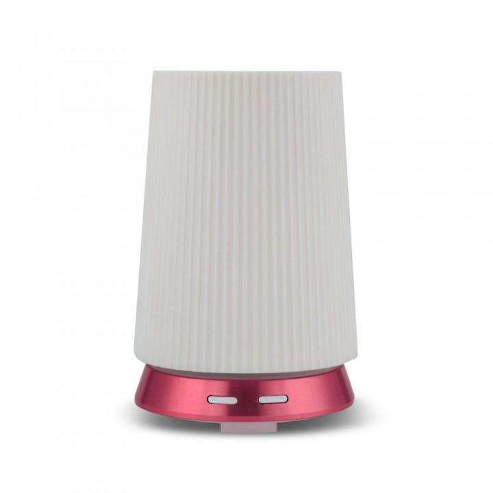 H44 Humidifier Essential Oil Diffuser Purifier LED Light 100ml Pink