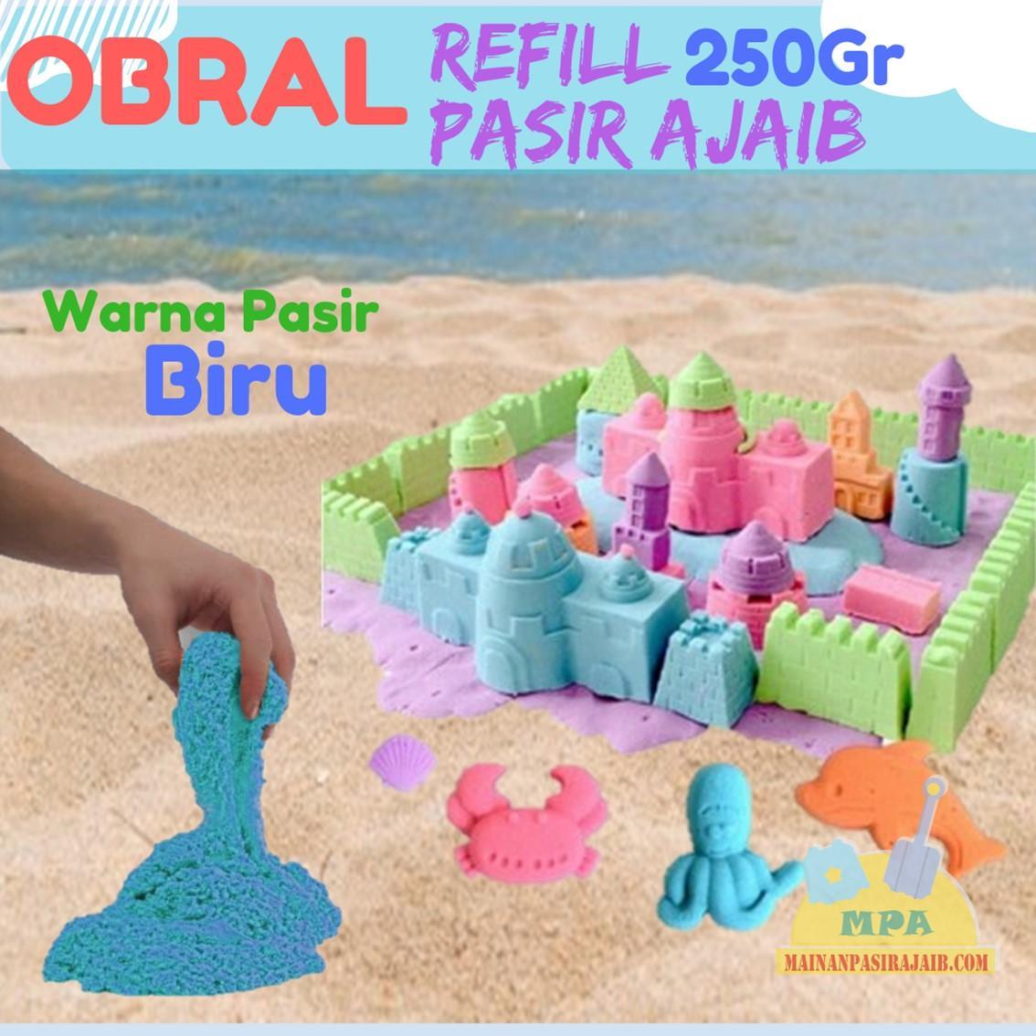 Obral Refill Pasir Ajaib Model Magic Play Sand 250gr Murah