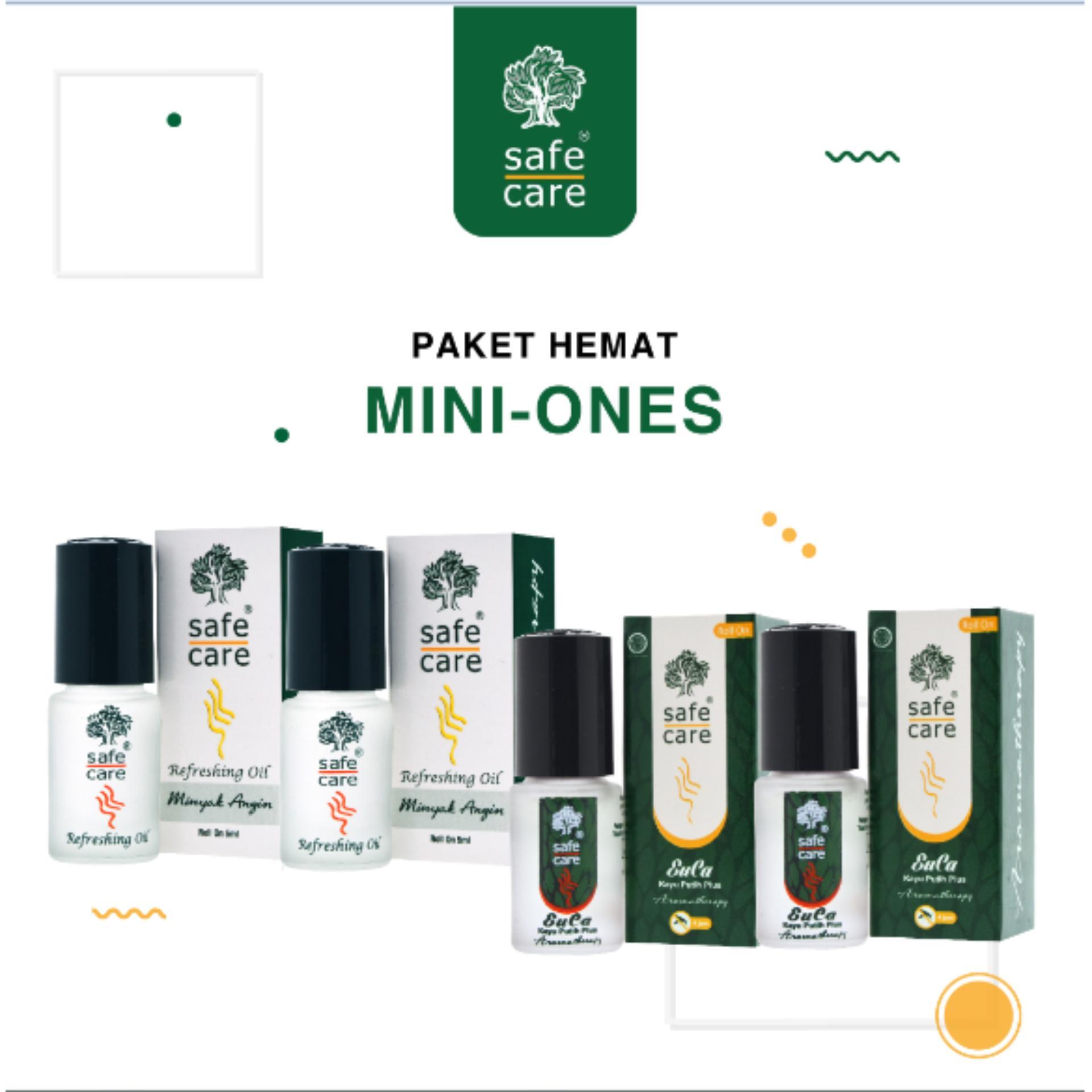 Safe Care Paket Hemat Aromatherapy Mini Ones