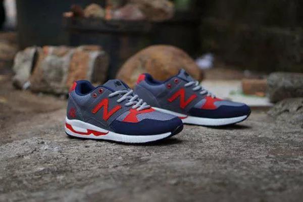 Promo Sepatu Casual Sport Pria New Balance 530 Terlaris (Sepatu Olahraga 62f1bdcefd