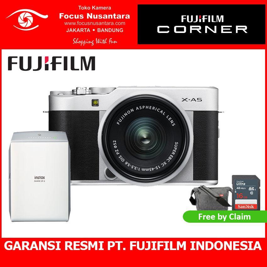 FUJIFILM X-A5 Kit 15-45mm 3.5-5.6 OIS PZ + Instax Share