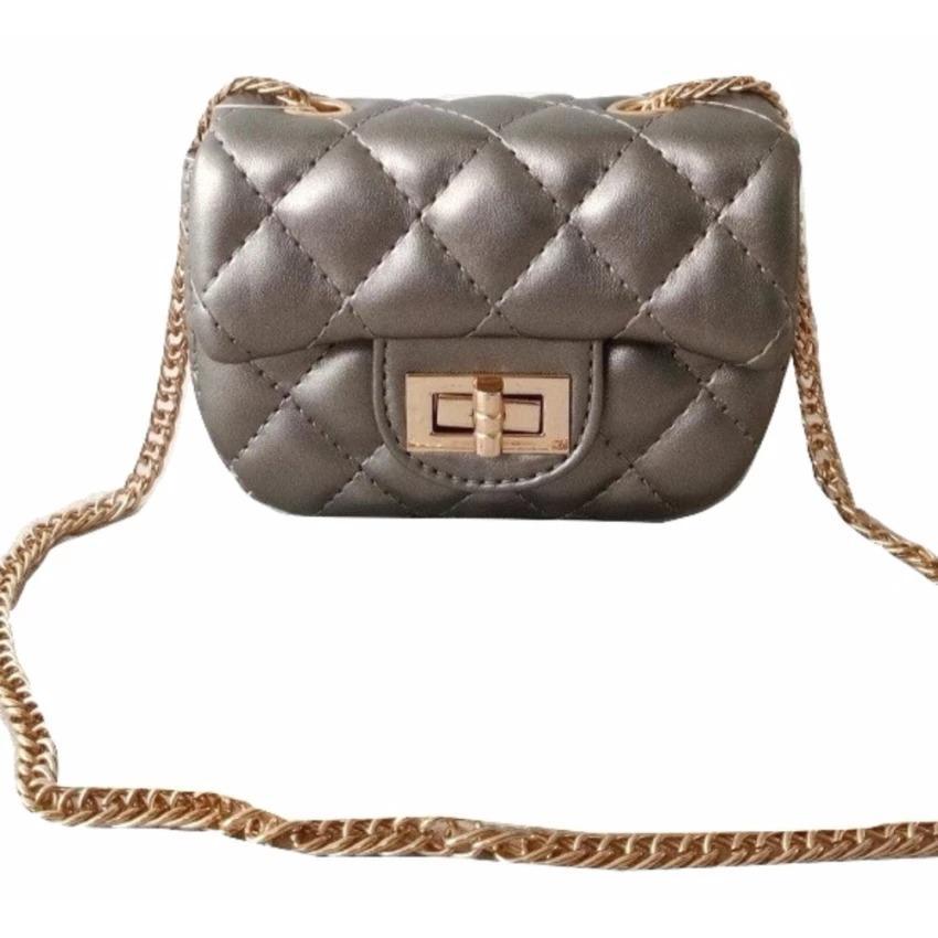 toko bang bayu Premium Tas Mini Elegan Branded Anak Dan Remaja Dewasa Fashion Channelly Sling Bag Import