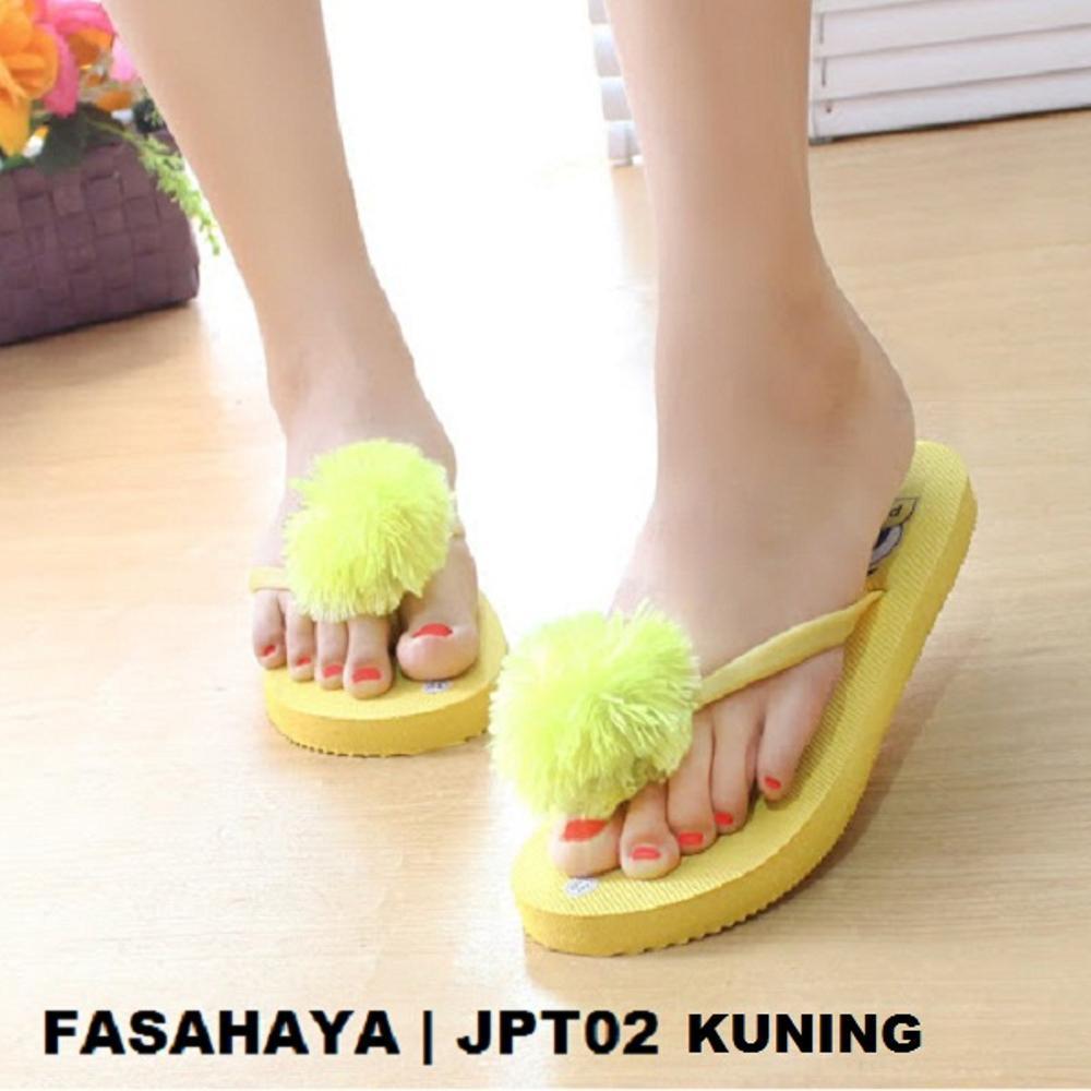 Rembulan Sandal Wanita kuning