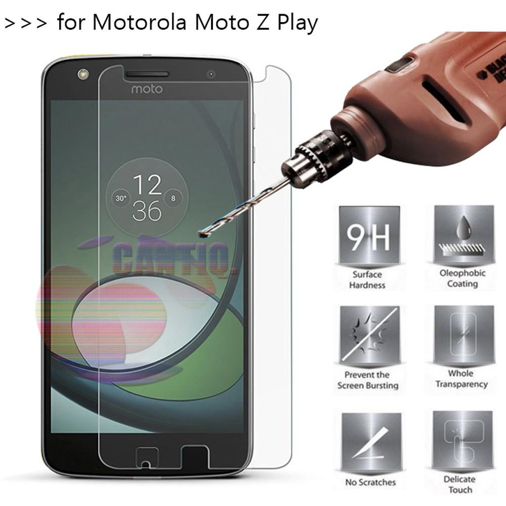 Icantiq Temper Glass Motorola Moto Z Play Ukuran 5.5 Inch Tempered Glass Motorola Moto Z Play Anti Gores Kaca 9H / Pelindung Layar / Screen Guard Motorola / Screen Protection /  Temper Kaca / Pelindung Layar Kaca - Transparant