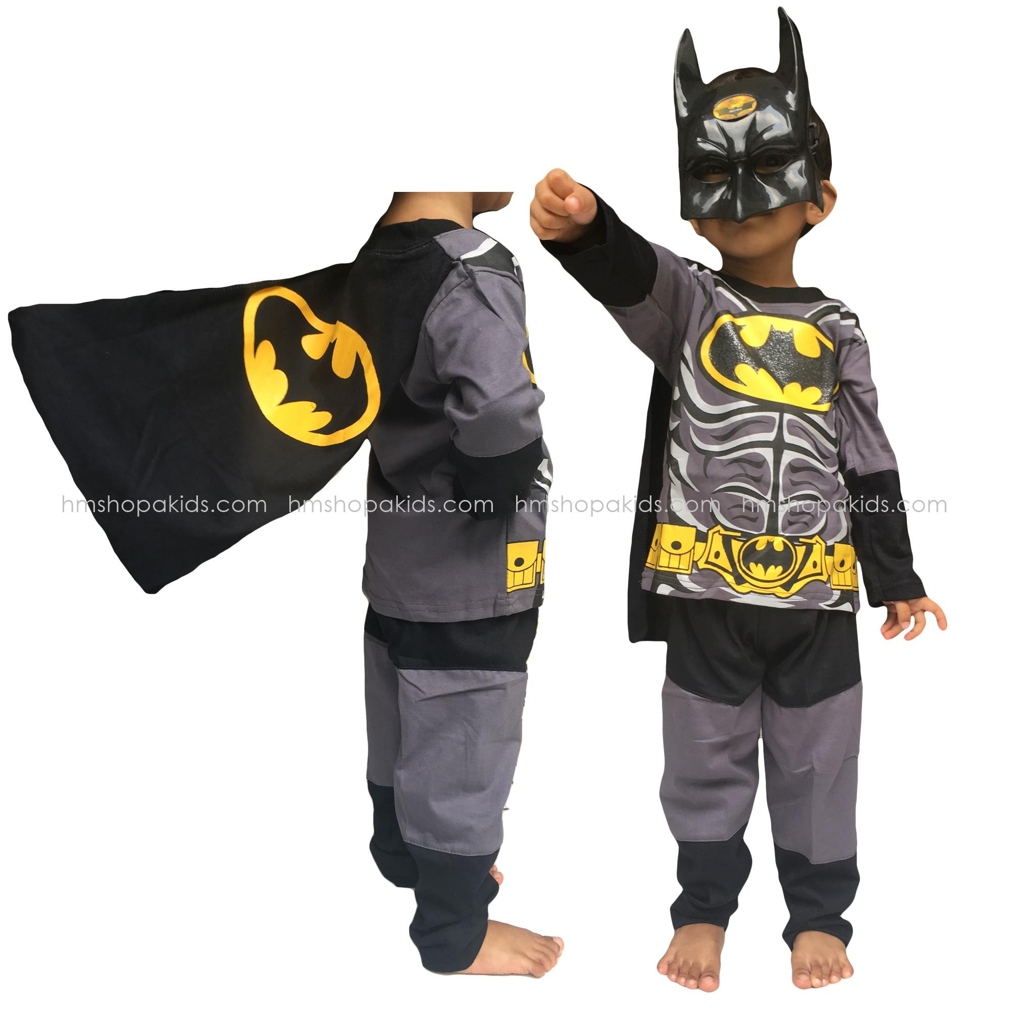 Hm Baju Kostum Anak Batman Topeng Baju Setelan Anak Batman By Hm Shopa Collection.