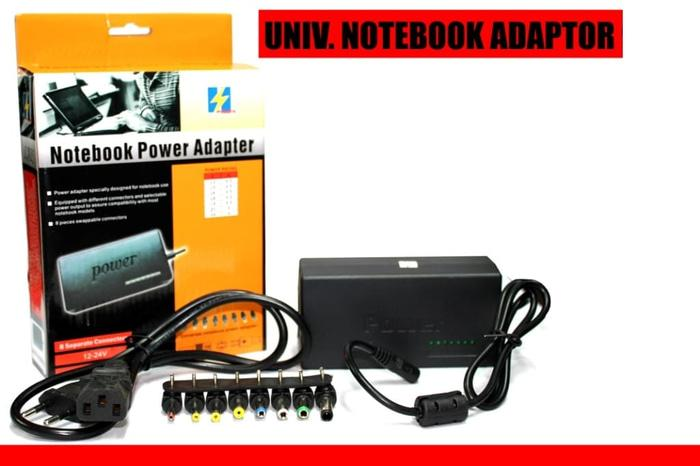 Terbaru! Adaptor Charger Notebook Laptop Universal 96W Hp Asus Lenovo Acer Dll - ready stock