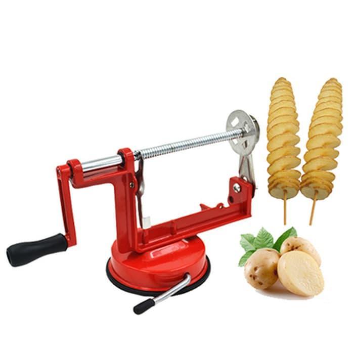 Spiral Potato Slicer - Chips - Pengiris - Pemotong Kentang Spiral EC027
