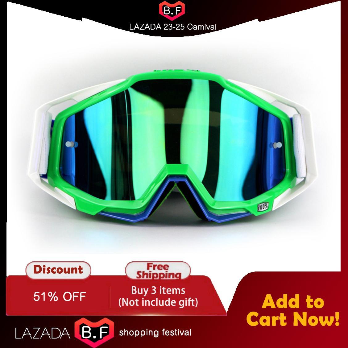 5 Warna 100% Brand Racecraft Motocross Kacamata Goggles ATV Motorcycle Gafas YH06-Intl