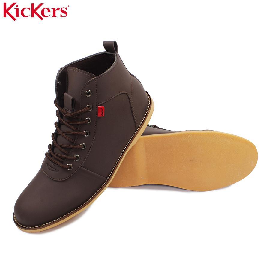 Kickers Brodo Cokelat bandhit Sintetis Boots Casual Tali e51ecdaad0