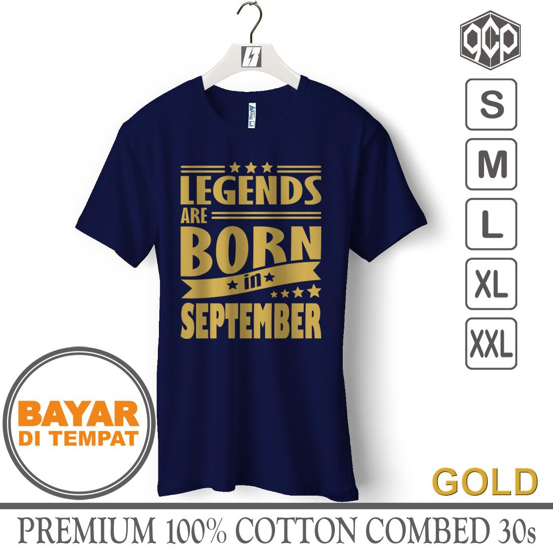 Jual Murah Kaos Distro Pria T Shirt Male Hrcn 69 H 0028 Berkualitas Casual Bulan Lahir September Gcp69