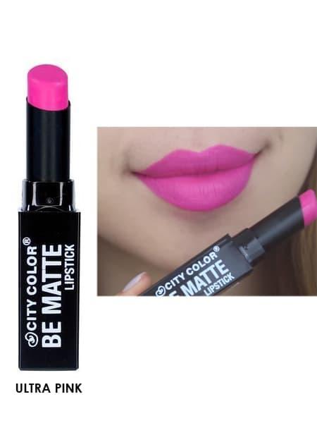 City Color Cosmetics Be Matte Lipstick - Ultra Pink
