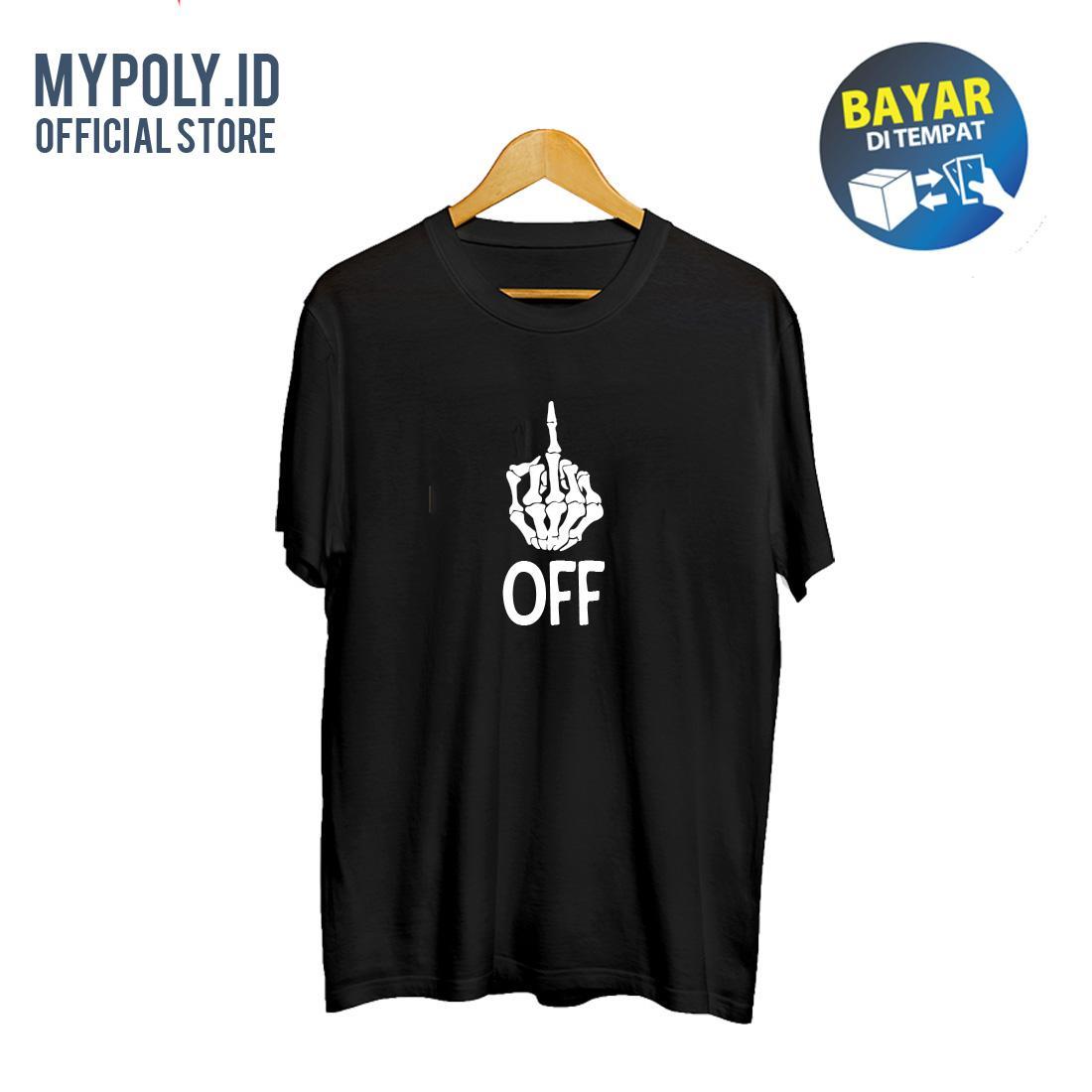 Kaos Premium Mypoly.ID / Baju Distro / Tshirt Casual Pria / Fashion Atasan /