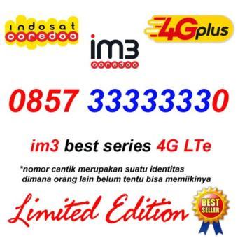 Bandingkan Toko Indosat Im3 0857 33333330 Kartu Perdana Nomor Cantik Super sale - Hanya Rp10.