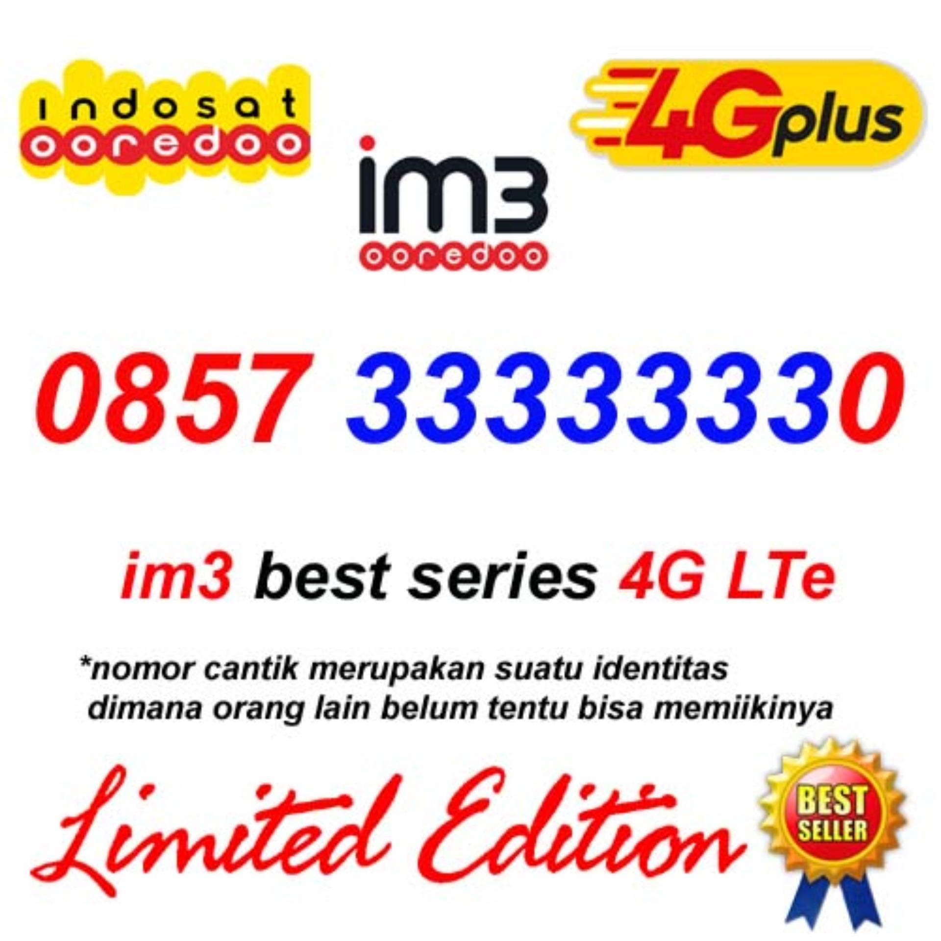 Indosat Im3 0857 33333330 Kartu Perdana Nomor Cantik Super