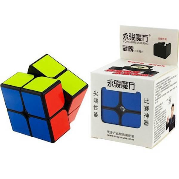 Rubik 2x2 WHITE base , ORI Yong Jun YJ8506 magic cubic rubik's box 2x2x2. Source