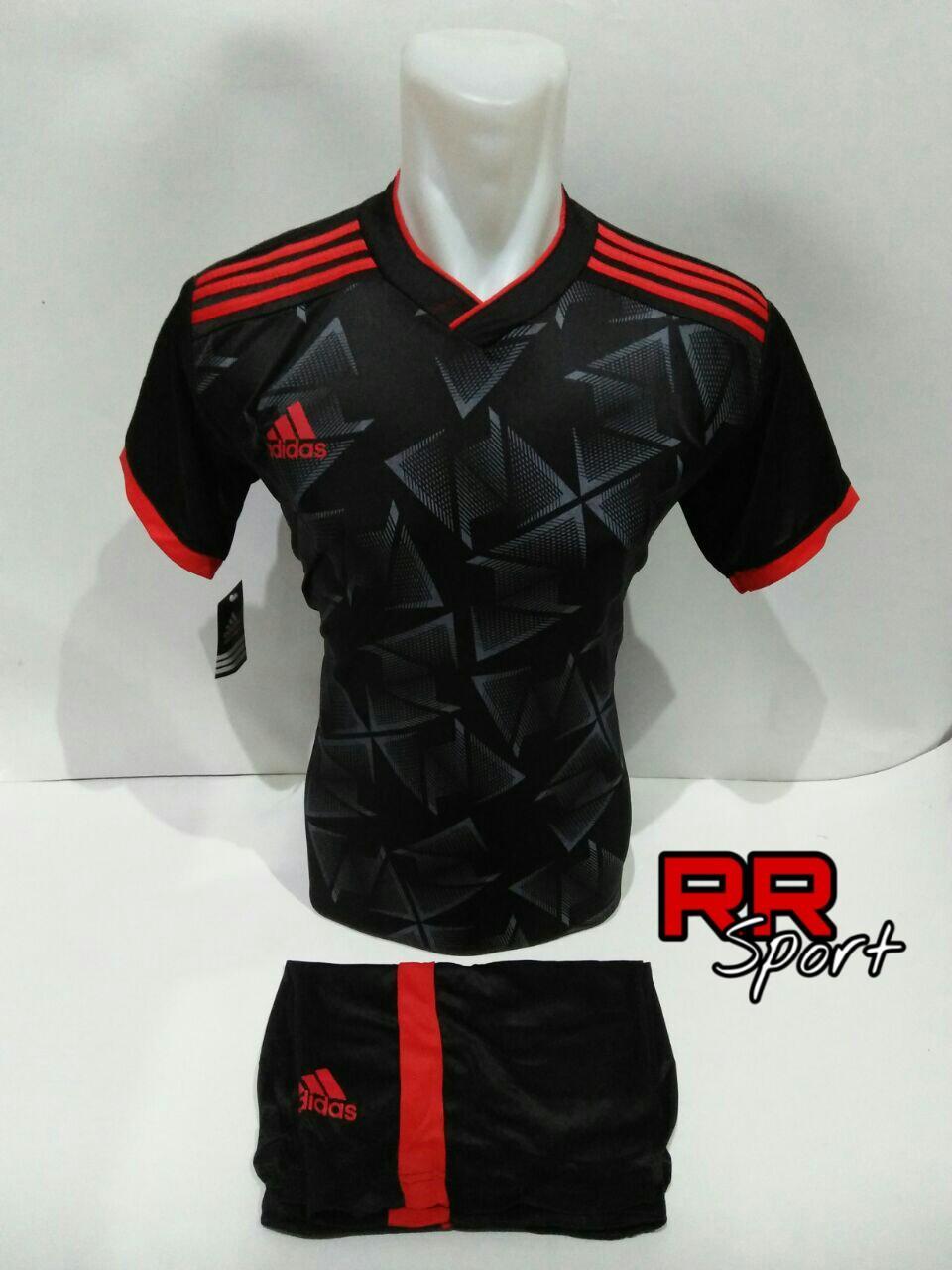 Jual Jersey Olahraga Pria Jeep Jpw61802 Jam Tangan Hitam Merah Baju Kaos Bola Setelan Futsal Volley Ad 08