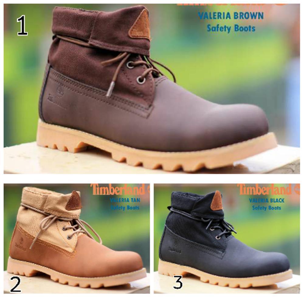 Jual sepatu boots pra timberland valeria safety Fashion